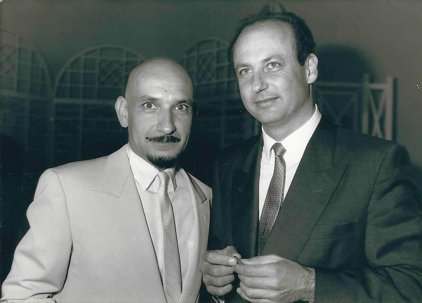 Siegbert Metelko und Ben Kingsley
