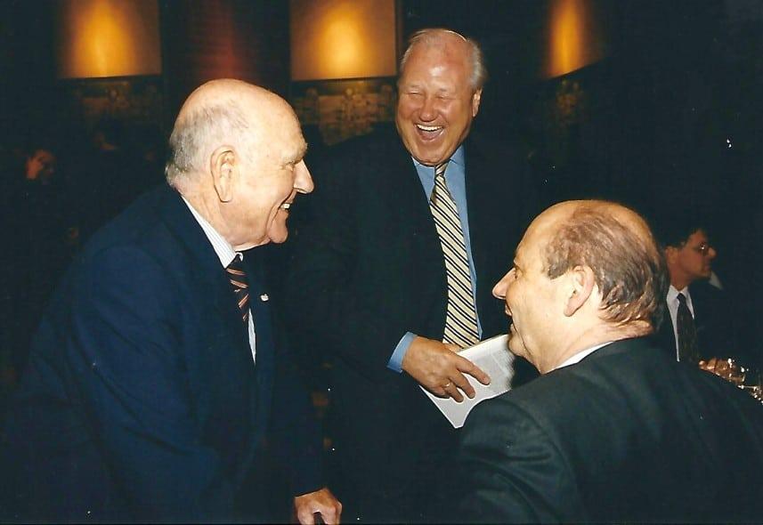 Siegbert Metelko und Gerd Bacher mit Charly Blecha