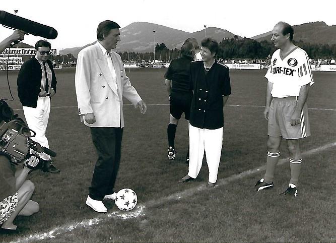 Siegbert Metelko und Helmut Fischer
