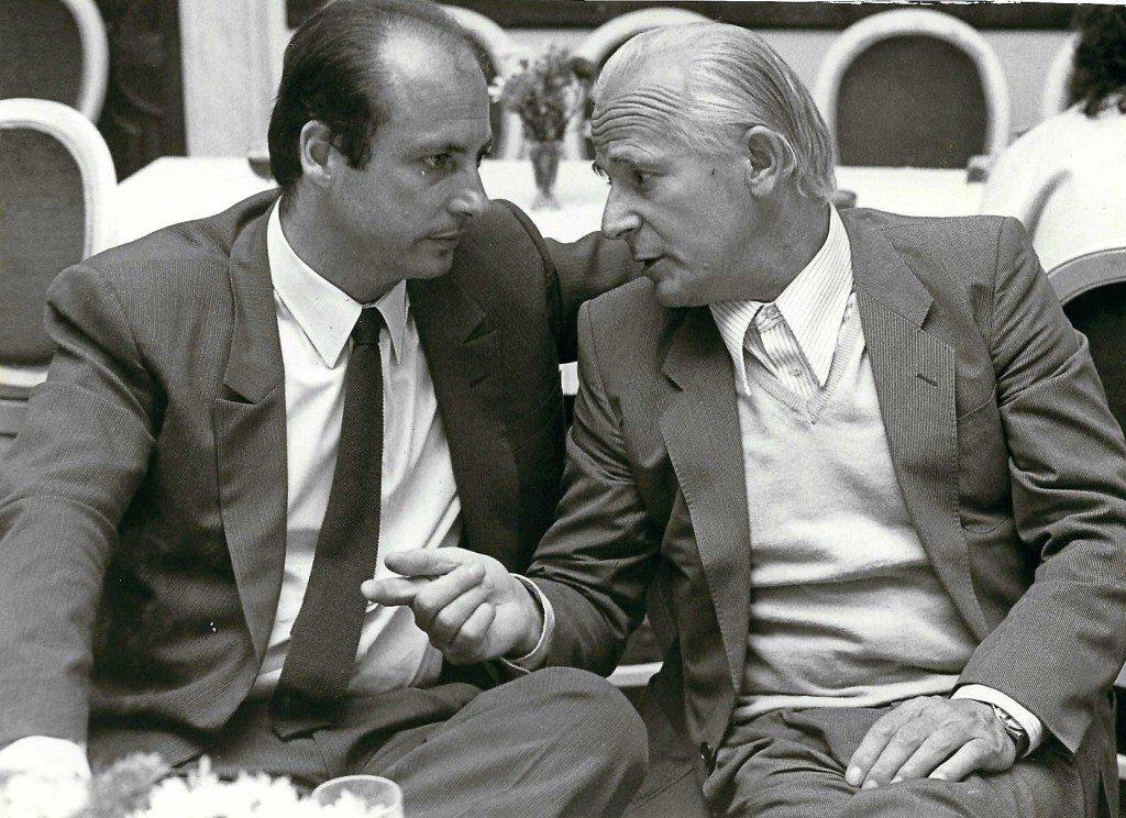 Siegbert Metelko und Herbert Wochinz