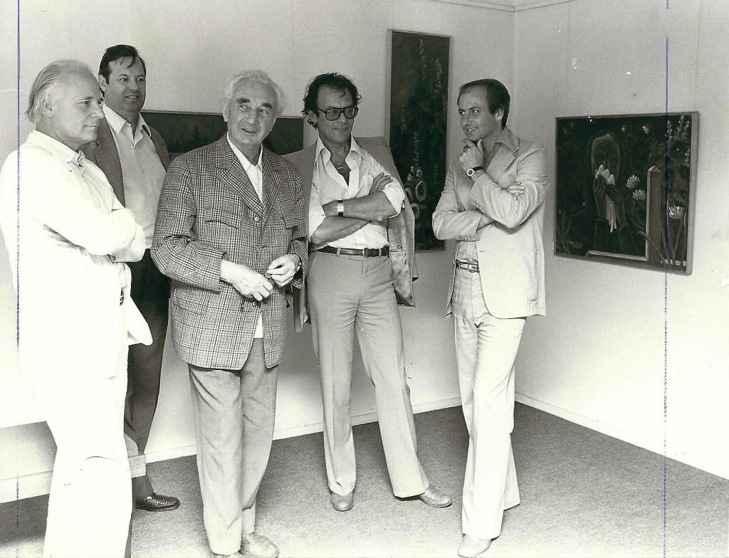Siegbert Metelko und Klaus Jürgen Wussow und Herbert Wochinz