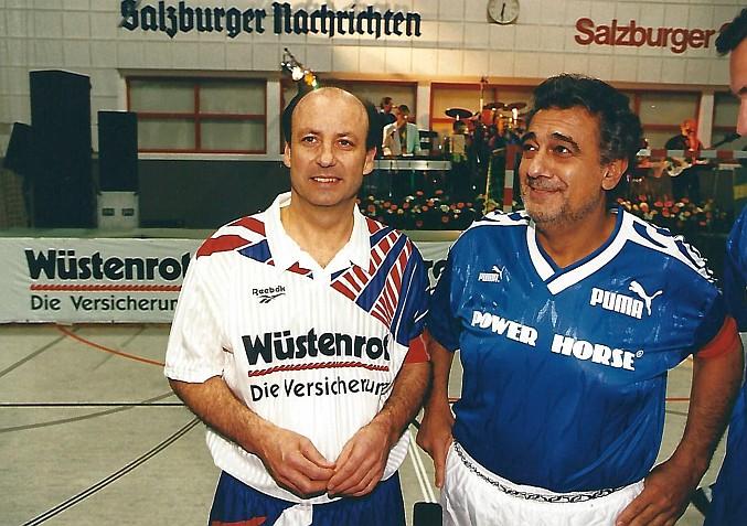 Siegbert Metelko und Placido Domingo