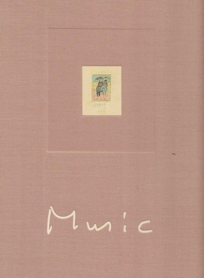 Katalog der großen Zoran Music Retrospektive von Arbeiten auf Papier 1990