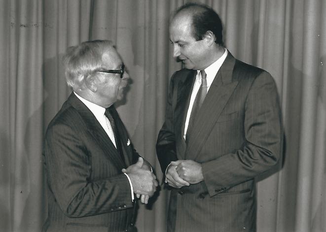 Dr. Walter Schuppich (Präsident der ORF Höhrer- und Sehervertreter)