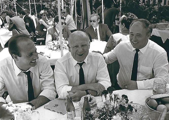Siegbert Metelko - Gerd Bacher und Leopold Wagner