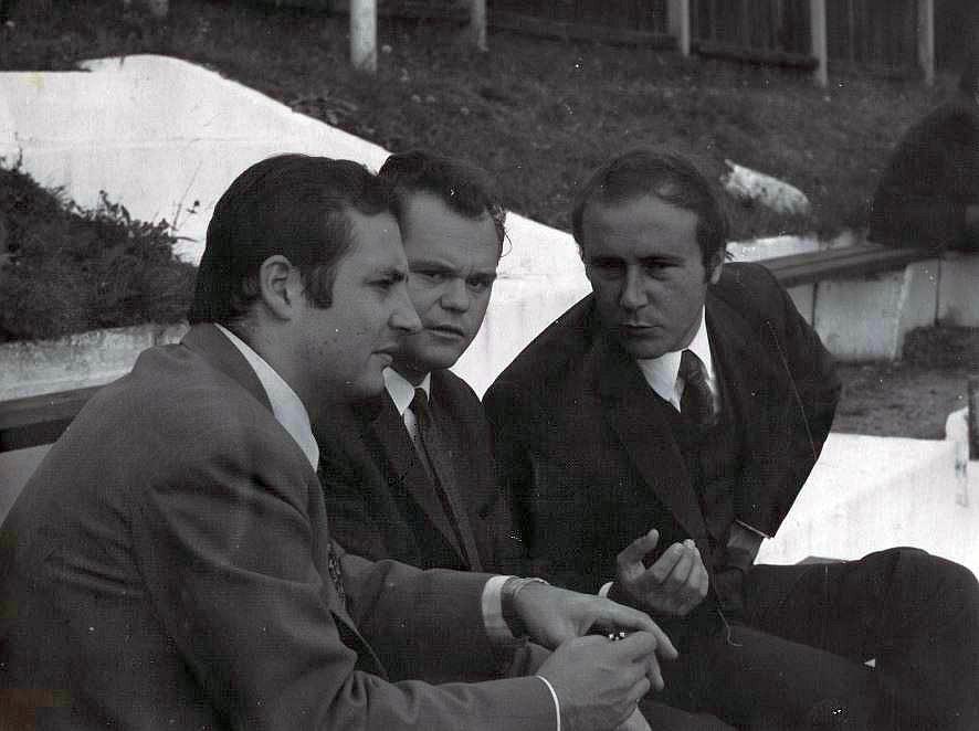 Metelko, Dr. Josef Koschat und Dietmar Konzilia