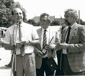 Metelko, Hermann Troyer, Heinz Felsbach