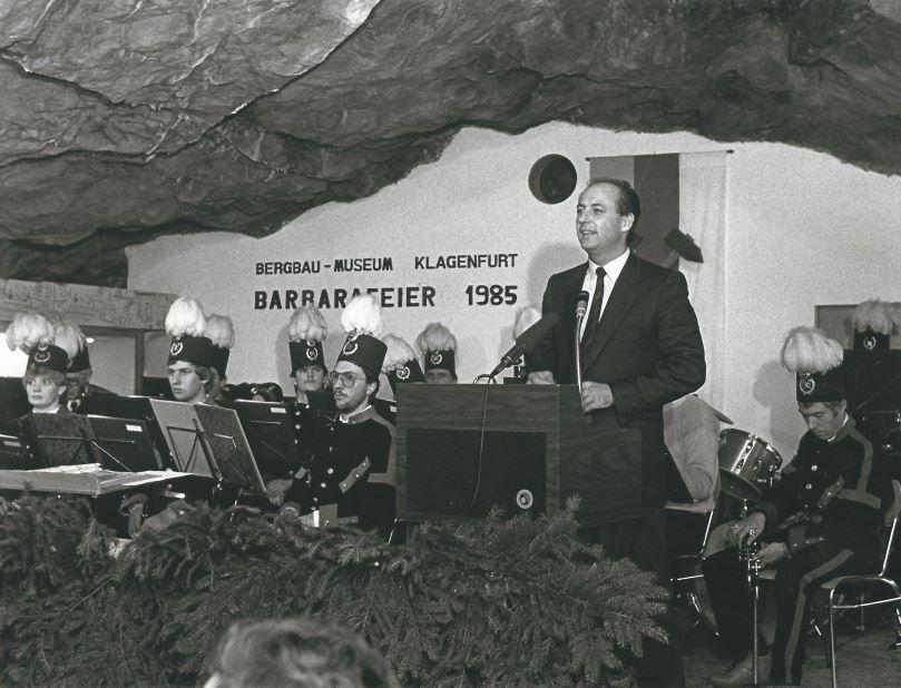 Metelko im Bergbau Museum