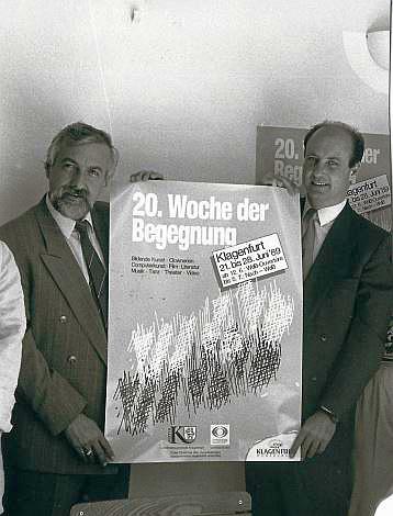 Metelko mit Heinz Felsbach