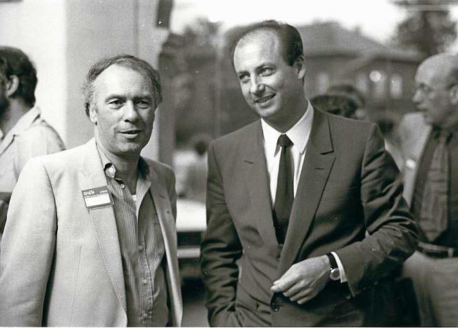 Siegbert Metelko und Ernst Willner