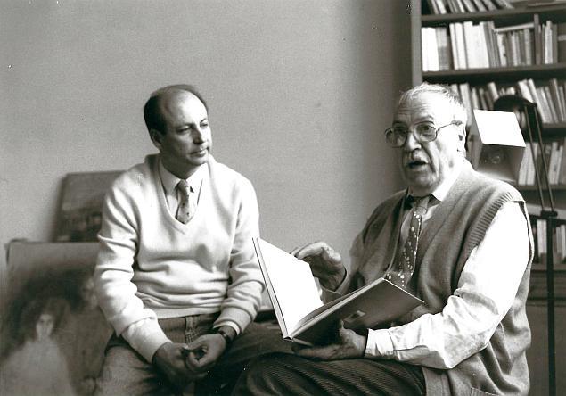 Siegbert Metelko und Zoran Music in Venedig
