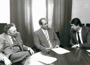 Sigi Metelko, Ernst Willner, Dr. Karl Princic