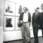 Siegbert Metelko mit Prof. Giselbert Hoke und Prof. Karl Brandstätter