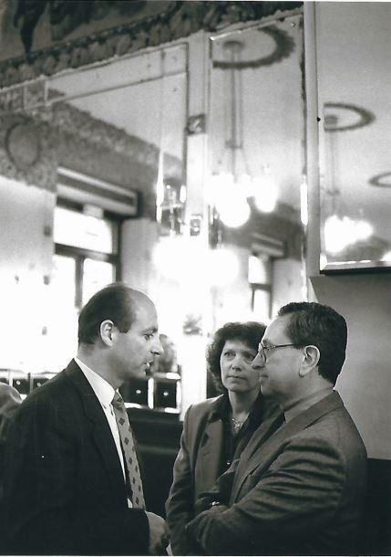 Siegbert Metelko und Günther Schnitzer