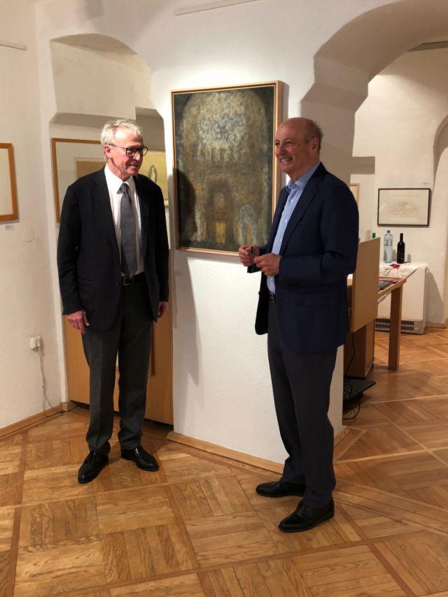 Siegbert Metelko und Wilfried Magnet