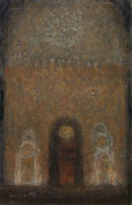 Zoran Music - Interieur einer Kathedrale 16