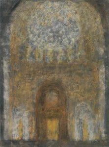 Interieur einer Kathedrale