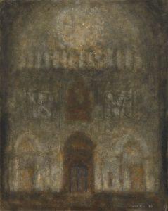 Zoran Music - Interno di catedrale