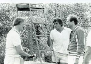 Josef Tichy, Ernst Gradischnig und Siegbert Metelko